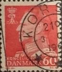 Sellos de Europa - Dinamarca -  Intercambio 0,25 usd 60 ore 1967