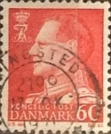 Stamps : Europe : Denmark :   60 ore 1967