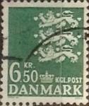 Sellos de Europa - Dinamarca -  Intercambio 0,80 usd 6,5 krone 1986