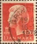 Sellos de Europa - Dinamarca -  Intercambio 0,20 usd 120 ore 1977