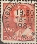 Sellos de Europa - Dinamarca -  Intercambio 2,75 usd 2,50 krone 1983