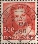 Stamps Denmark -  Intercambio 0,25 usd 3 krone 1986