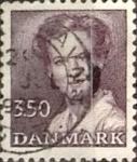 Stamps Denmark -  Intercambio 0,95 usd 3,50 krone 1985