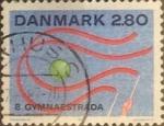 Sellos de Europa - Dinamarca -  Intercambio 0,25 usd 2,80 krone 1987
