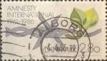 Sellos de Europa - Dinamarca -  Intercambio 0,25 usd 2,80 krone 1986