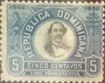 Stamps : America : Dominican_Republic :  Intercambio 0,25 usd 5 cents. 1902