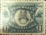 Stamps : America : Dominican_Republic :  Intercambio 0,25 usd 1 cents. 1902