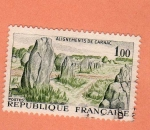 Stamps of the world : France :  Carnac
