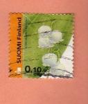 Sellos de Europa - Finlandia -  Flor