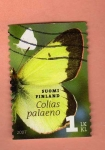 Stamps Finland -  Mariposa