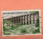 Stamps : Europe : France :  Acueducto