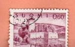 Stamps : Europe : Finland :  Castillo