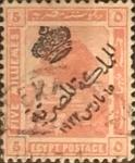 Stamps Egypt -  Intercambio 0,20 usd 5 miles. 1922