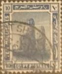 Stamps Egypt -  Intercambio 0,20 usd 10 miles. 1921