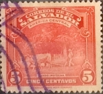 Sellos del Mundo : America : El_Salvador : Intercambio 0,20 usd 5 cents. 1938