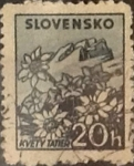 Stamps : Europe : Slovakia :  Intercambio 0,20 usd 20 h. 1940