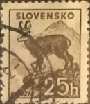Stamps : Europe : Slovakia :  Intercambio 0,25 usd 25 h. 1940