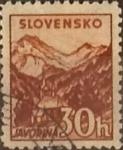 Sellos de Europa - Eslovaquia -  Intercambio 0,25 usd 30 h. 1940