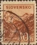 Sellos del Mundo : Europa : Eslovaquia : Intercambio 0,25 usd 30 h. 1940