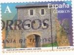 Sellos de Europa - España -  puerta de San Lorenzo- Cantabria (19)