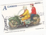 Stamps Spain -  moto de hojalata (19)