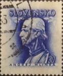 Sellos del Mundo : Europa : Eslovaquia : 1,30 k. 1943