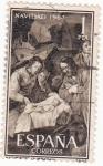 Stamps Spain -  Navidad -1964 (19)