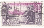 Stamps Spain -  peregrino (19)