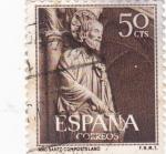 Sellos de Europa - España -  año santo compostelano (19)