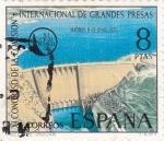 Stamps Spain -  presa de Iznajar  (19)