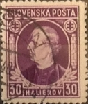 Stamps : Europe : Slovakia :  Intercambio ma4xs 0,65 usd 30 h. 1939
