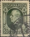Stamps : Europe : Slovakia :  Intercambio 0,65 usd 50 h. 1939