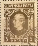 Sellos de Europa - Eslovaquia -  Intercambio 0,50 usd 3 k. 1939