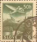 Stamps : Europe : Slovakia :  Intercambio 0,40 usd 50 h. 1939