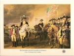 Stamps : America : United_States :  Bicentenal souvenir sheets / the surrender of lord Cornwallis at yorktown / 13C.