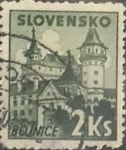 Stamps : Europe : Slovakia :  Intercambio 0,20 usd  2 k. 1941