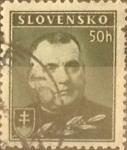 Stamps Slovakia -  Intercambio 0,30 usd  50 h. 1939