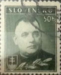 Stamps : Europe : Slovakia :  Intercambio 0,30 usd  50 h. 1939