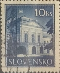 Stamps : Europe : Slovakia :  Intercambio 0,75 usd  10 k. 1940