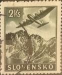 Stamps : Europe : Slovakia :  Intercambio ma4xs 0,65 usd  2 k. 1939