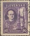 Sellos del Mundo : Europa : Eslovaquia : Intercambio 0,25 usd 60 h. 1939