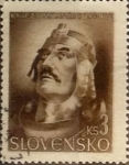 Stamps : Europe : Slovakia :  Intercambio 0,30 usd 3 k. 1944