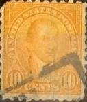 Sellos de America - Estados Unidos -  Intercambio 0,35 usd 10 cents. 1923
