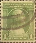 Sellos de America - Estados Unidos -  Intercambio 0,20 usd 1 cents. 1932