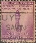 Sellos de America - Estados Unidos -  Intercambio 0,20 usd 3 cents. 1940