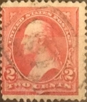 Sellos de America - Estados Unidos -  2 cents. 1895