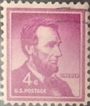 Stamps United States -  Intercambio 0,20 usd 4 cents. 1954
