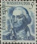 Sellos de America - Estados Unidos -  Intercambio 0,20 usd 5 cents. 1966