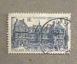 Stamps France -  Palacio de Luxemburgo