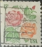 Sellos de America - Estados Unidos -  Intercambio 0,20 usd 15 cents. 1978